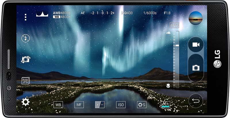 LG G4 разполага с 5.5-инчов дисплей