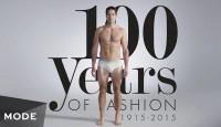 Вижте мъжката мода от последните 100 години