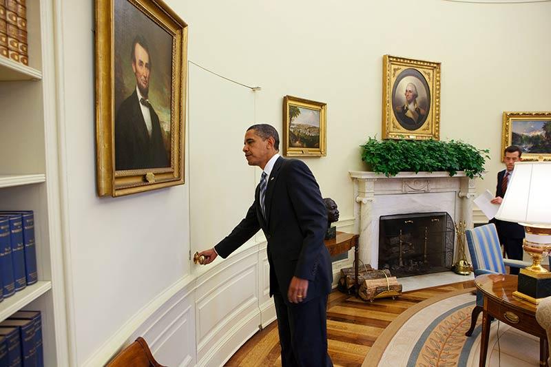 Овалният кабинет на Белия дом