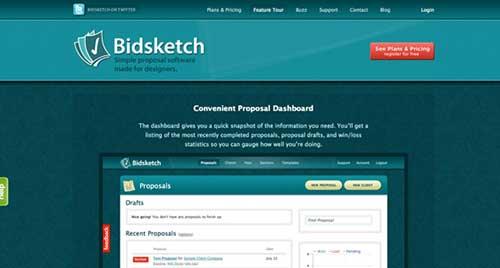 5 супер полезни инструменти за фрийлансъри - Bidsketch