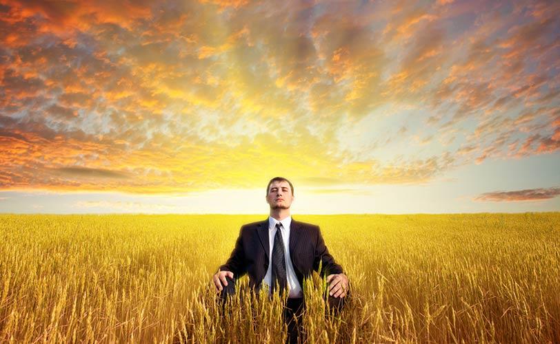Брилянтно двуминутно видео за медитацията