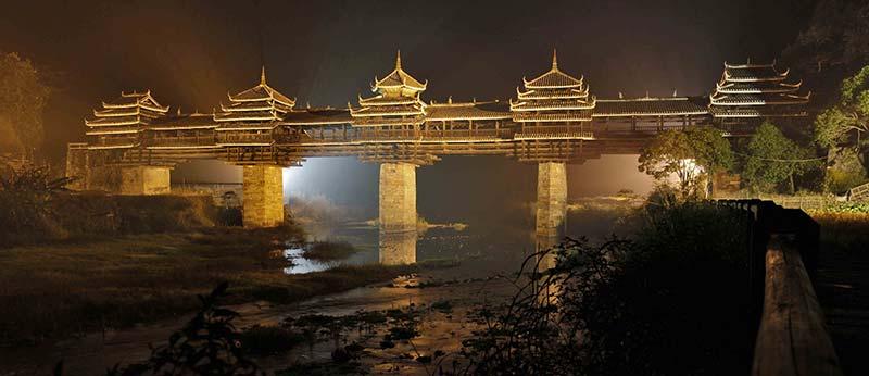 Chengyang е сред най-красивите мостове в света
