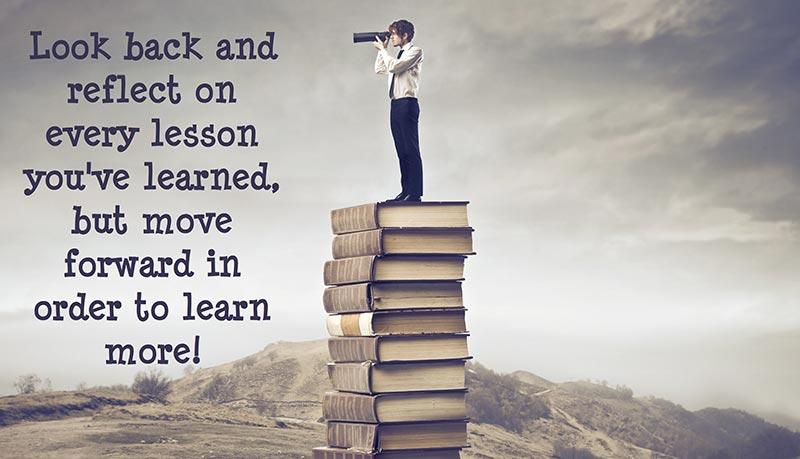 Поучете се от преживяното по най-добрия начин