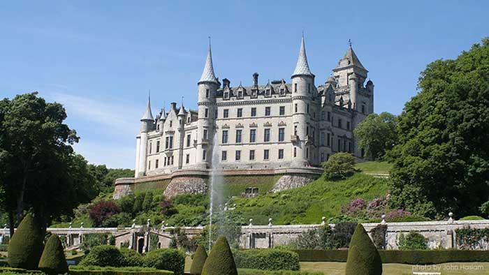 Замъкът Дънробин, Шотландия