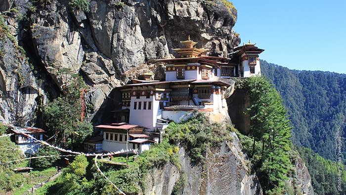 Манастирът Таксанг, Бутан