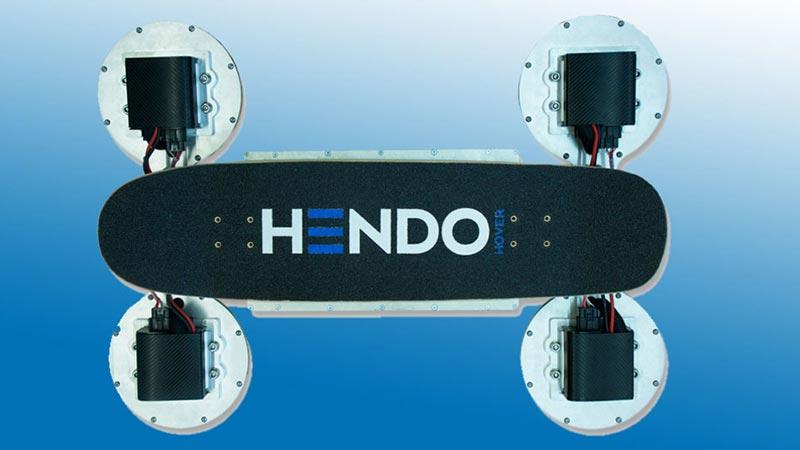 Тони Хоук представи Hendo 2.0