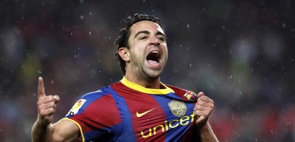 Шави в топ 3 на рекордьорите в Шампионска лига