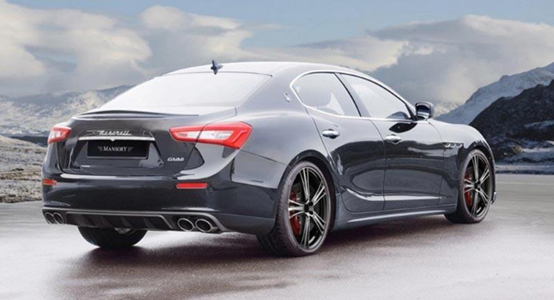 Mansory барнаха Maserati Ghibli