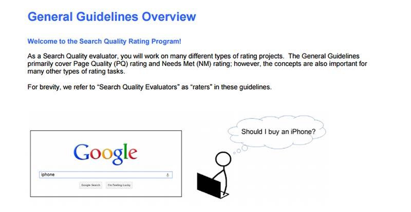 Google пуснаха ръководство на алгоритъма за търсене