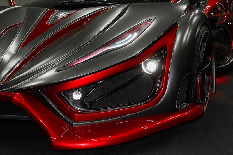 Inferno е новият член на супер автомобилите