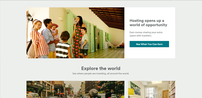 airbnb-UX
