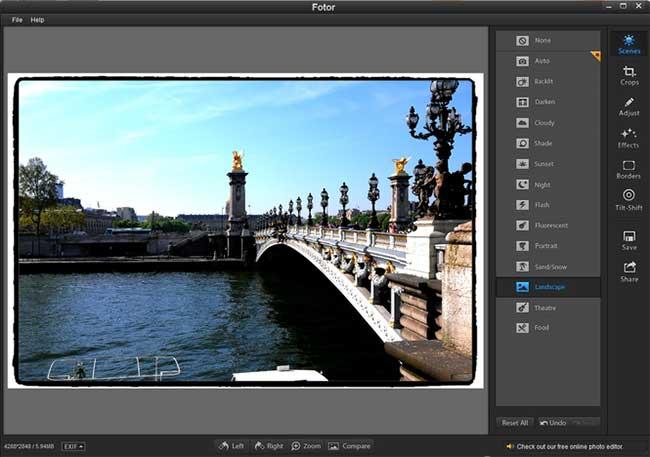 Fotor - създаване на заглавни картинки