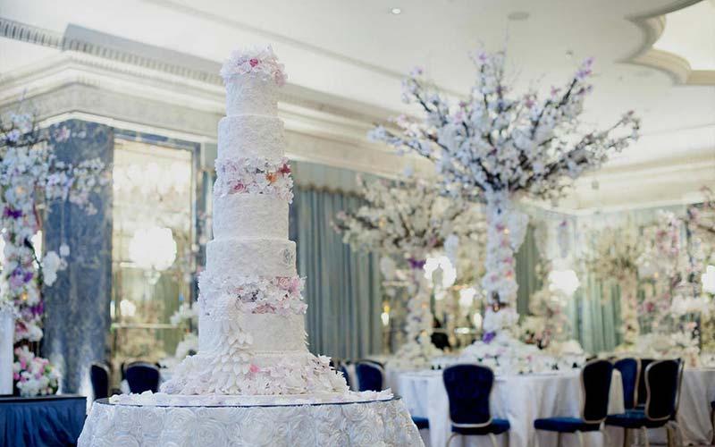 Луксозна сватбена украса