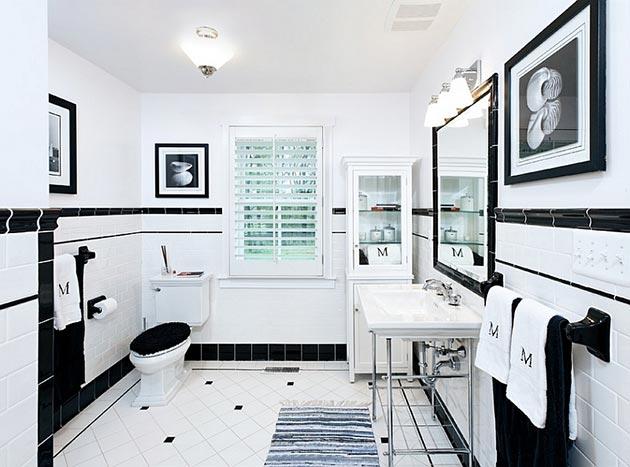 Как да разкрасим модерната баня с няколко ретро елемента