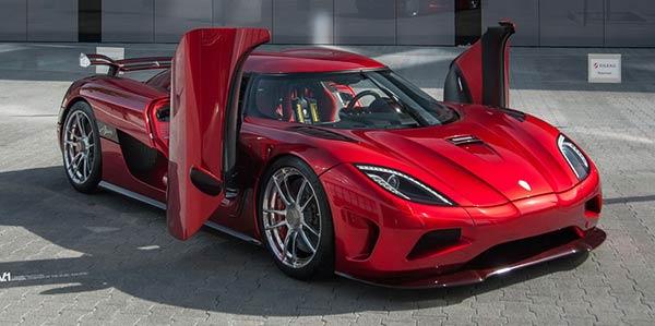 Agera R е сред най-скъпите автомобили в света