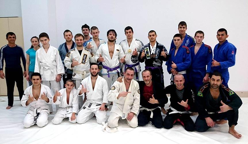 Тренировки по Бразилско джу-джицу във Варна