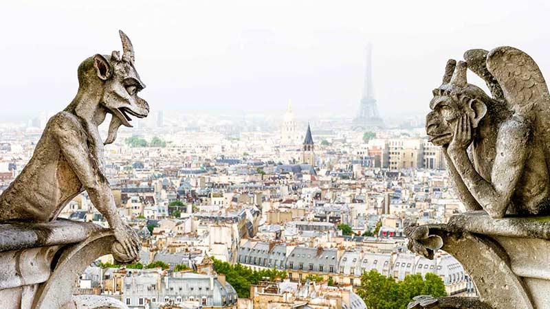 Нотр Дам – страховитата френска катедрала