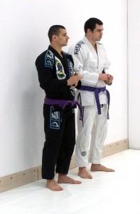 Бразилско джу-джицу Варна - Радослав (ляво) и Александър (дясно)