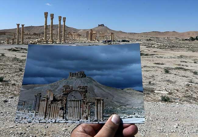 Палмира преди и след ISIS