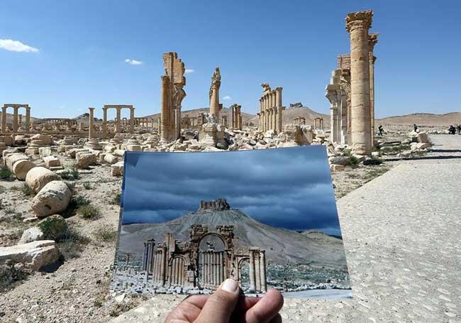 Погубената красота на Палмира