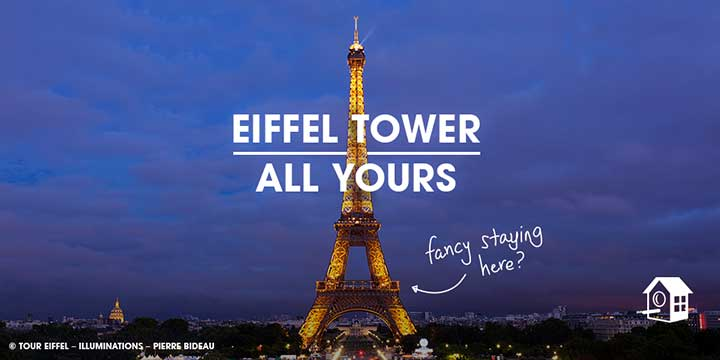 нощувка на Айфеловата кула