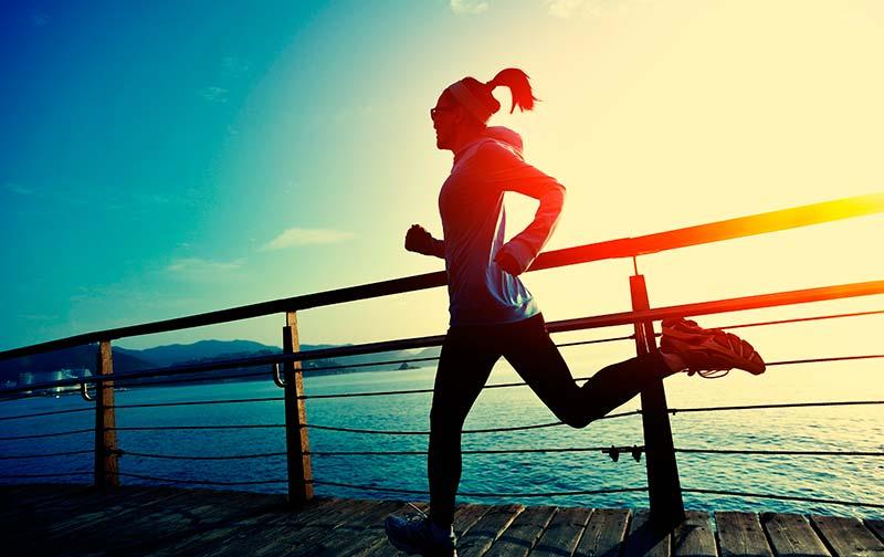 Щастието, благодарение на спортуването