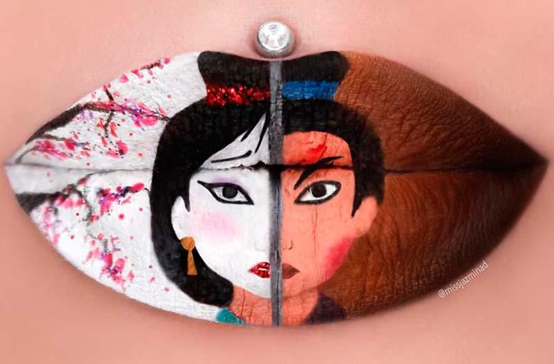 Lips art - шедьоври върху устните