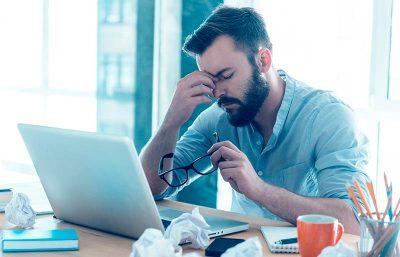Първи симптоми на професионалното прегаряне