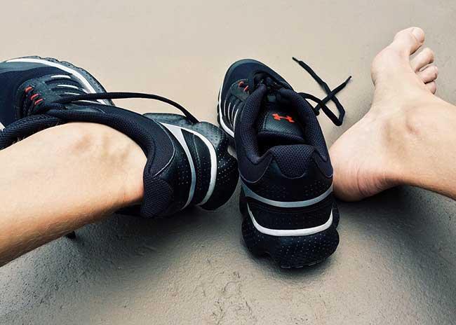 Контузии заради неподходящи обувки