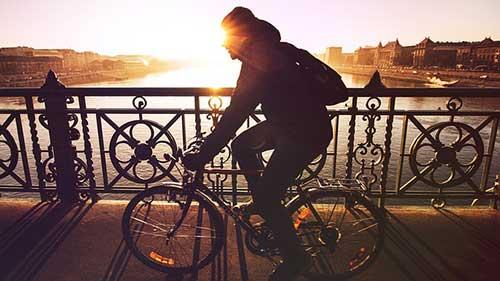 упражнения, които горят повече калории от бягането - колоездене