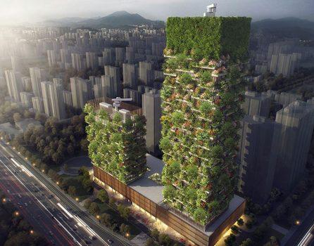 Вертикалните гори в Нанкин, Китай