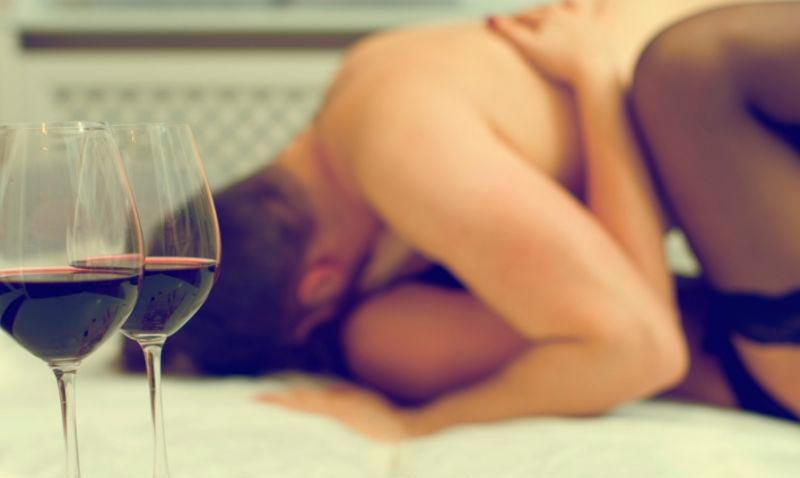Вино за по-добър сексуален живот