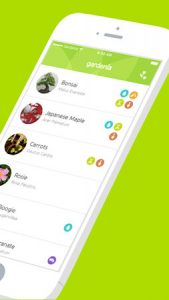 Грижа за растенията с мобилно приложение