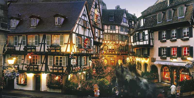 Как празнуват Коледа във Франция