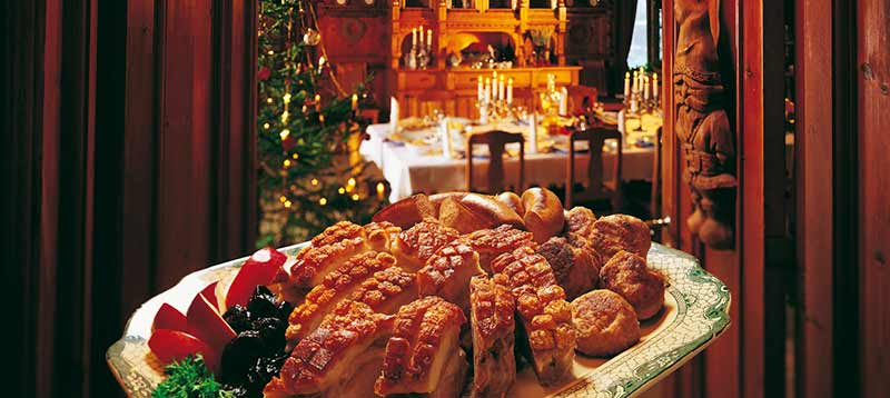 Как празнуват Коледа в Норвегия