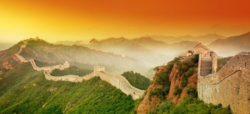 Забележителности в Китай